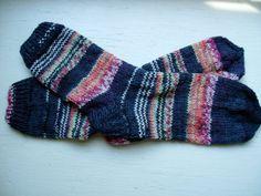Hand Knit Soft And Warm  Women's Superwash Wool  Socks by silviaol