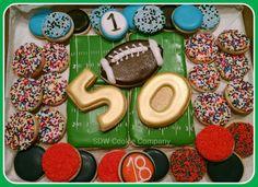 Superbowl cookies