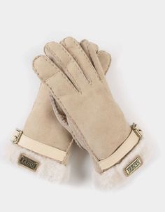 Australia Luxe Collective Shearling Cuff Gloves Sans Sheepskin Size S | eBay