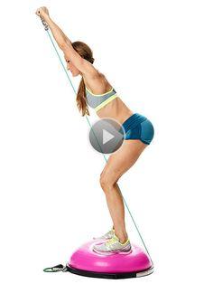 Back Fat Workouts: Superhero