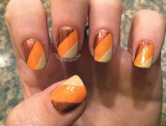 More 70s inspired nails