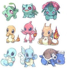 "Some Pokemon ""evolve"" from one form to another. Their evolution normally always involves them getting better at battling other Pokemon. In this sense, Pokemon evolution is similar to the. Baby Pokemon, 3d Pokemon, Pokemon Bulbasaur, Charmander Tattoo, Charizard, Pokemon Super, Pokémon Kawaii, Anime Kawaii, Pikachu Pikachu"