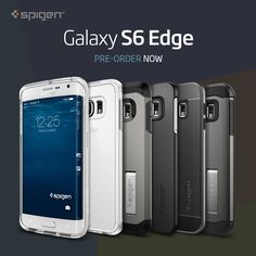 If you have your heart set on the upcoming Samsung Galaxy S6 Edge, Spigen is now offering up a few of their GS6 Edge cases for pre-order. The renders show off the front of the phone, but before you get too excited, everything may not be what it seems.