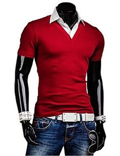 Shop men's T-Shirts. Hipster Outfits, Online Shopping For Women, Motorcycle Jacket, Burgundy, Vintage Fashion, Slim, Fitness, T Shirt, Jackets