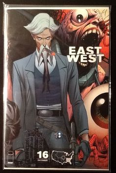 East of West #16 F Variant Cover (The Confederacy) Image Comics NM