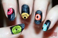 The Daily Nail: For the Record... nail art