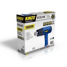 Kinzo Ecoline heteluchtpistool 1600W #kinzo #gereedschap #heteluchtpistool