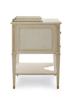 Century Furniture - Charlotte Moss Auburn Nightstand - I29-222 Dimensions: Outside: W: 29.25 in X D: 22.75 in X H: 31.50 in Volume: 16 cft Weight: 93 lb
