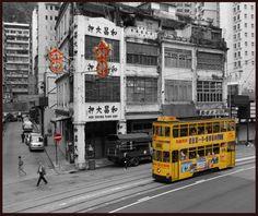 Hong Kong Tramway - Hong Kong.