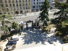 Desde la entrada hasta el tejado....museo en Zaragoza, España