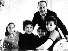 Lorna Luft, Judy Garland, Sid Luft, Joey Luft and Liza Minelli
