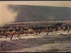 1944 D-day in Color! New Outstanding Footage 2 of 3