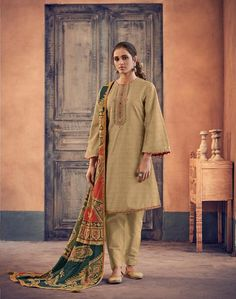Buy Varsha Ehrum vol 2 Khadi with embroidery Salwar Suit 1013 Fashion Catalogue, Salwar Suits, Digital Prints, Sari, Pure Products, Embroidery, Cotton, Shopping, Collection