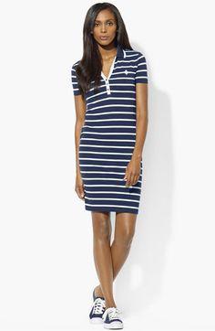 Lauren Ralph Lauren Polo Dress (Petite) available at