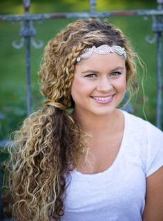 11 Quick & Easy Headband Hairstyles For Naturally Curly Hair