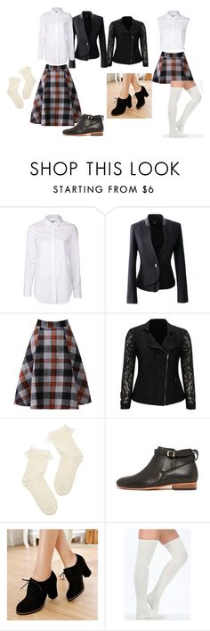 """""""New and old school look"""" by fashion41323 ❤ liked on Polyvore featuring Closed, Live Unlimited, Dieppa Restrepo and Pangmama"""