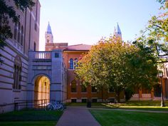 Herzstein Hall at Rice University, Fall 2013