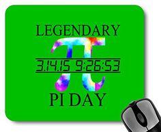Legendary Pi Day Tie Dye Mousepad