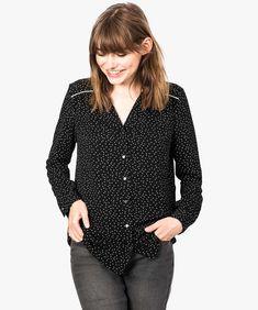 Polka Dot Top, Dressing, Chic, Tops, Women, Fashion, Polka Dot Blouse, Long Dress Patterns, Shabby Chic