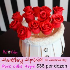 Rose Cake Pops Ad