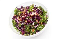 vegansk rå grønnkålsalat oppskrift