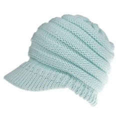 83350b3f12c Hot Sale Women S Knitted Baseball Cap Open Ponytail Visor Cap Ski Cap  Beanie Hat Winter For Women