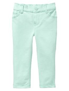 Five-pocket knit pants