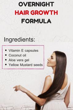 Hair Growth Oil For Men Hair Growth Leave In Conditioner Hair Growth For Men, Healthy Hair Growth, Hair Growth Tips, Natural Hair Growth, Diy Hair Care, Hair Care Tips, Hair Tips, Hair Ideas, Overnight Hair Growth