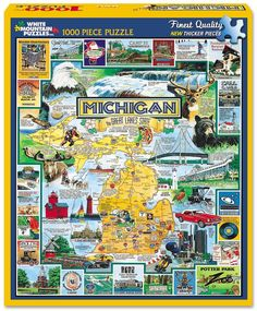 THE BEST OF MICHIGAN - 1000 Piece Jigsaw Puzzle