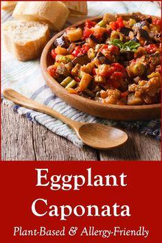 Eggplant Zucchini, Vegan Eggplant, Eggplant Dishes, Eggplant Recipes, Dairy Free Recipes, Vegetarian Recipes, Cooking Recipes, Healthy Recipes, Gluten Free