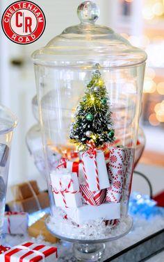 Apothocary Jar Christmas Tree Project by Cheltenham Road