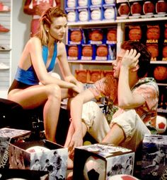 Mannequin; Starring Andrew McCarthy as a mannequin-maker and Kim Cattrall as the mannequin, the film was silly and sweet in a way that only '80s movies could be.