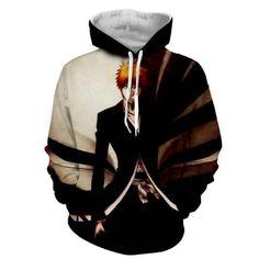 Bleach Hoodie, Otaku, Anime Merchandise, Anime Costumes, Shinigami, Bleach Anime, Super Hero Costumes, Unisex, Sweatshirts