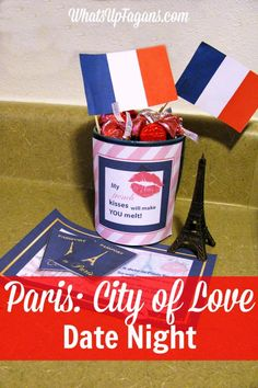Great date night at home idea for my husband. Create a night in Paris,