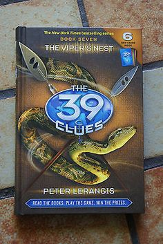 47 best the 39 clues images on pinterest the 39 clues funny stuff the 39 clues the vipers nest 7 by peter lerangis hardcover fandeluxe Gallery