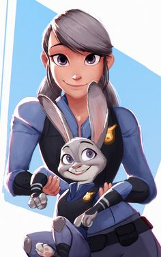 "Wanted to do a fan art of Zootopia, but i couldn't decide between a human version or animal. So my friend suggested ""why not both?"" So i sucker punched him and I dunno why... ___________________ It..."