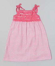 Love this Pink Floral Ruffle Organic Jumper - Infant, Toddler & Girls by Origany on #zulily! #zulilyfinds