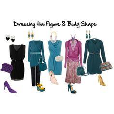 Dressing the Figure 8 Body Shape