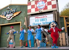 Come Fly with 'Minnie's Fly Girls Charter Airline' at Disney California Adventure Park « Disney Parks Blog