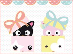 giftbox.cats. by meow-mau-mau.deviantart.com on @deviantART