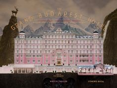 The new gem from Wes Anderson.