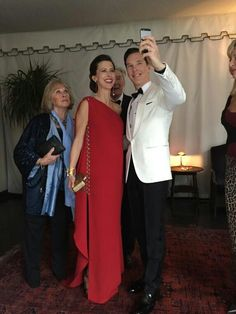 Cumberbatch family selfie