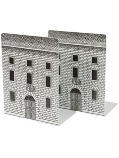 Fornasetti Printed Metal Bookends - L'eclaireur - Farfetch.com