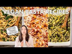 Upgrading *that* TikTok Pasta | 3 Vegan Recipes - YouTube Chorizo Pasta, Vegan Chorizo, Vegan Cheese, Vegan Vegetarian, Vegetarian Recipes, Vegan Pasta, Pesto Pasta, Chicken Brands, Spinach Artichoke Pasta