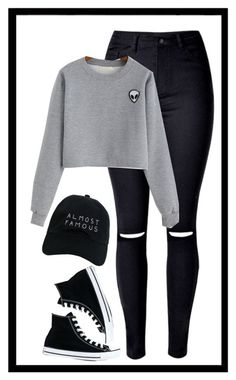 """Geen titel #272"" by x-essie-x ❤ liked on Polyvore featuring Converse, Nasaseasons, MyStyle and back2school"