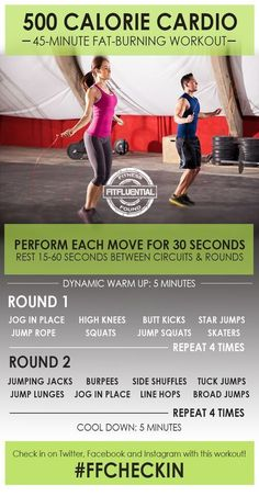 This body weight circuit will burn calories and make your workout time really count.