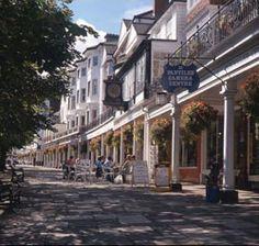 Tunbridge Wells, Kent - antique shopping and cafes