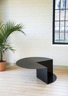 Detroit-based Korean designer Nina Cho's Cantilever table