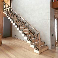 escalier et garde corps maison garde corps escalier bois et bois. Black Bedroom Furniture Sets. Home Design Ideas