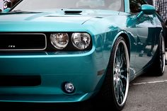 Dodge Challenger... the color is AMAZING on this car